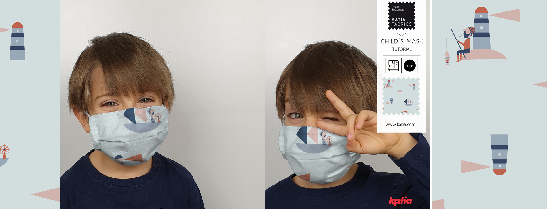 child´s face mask