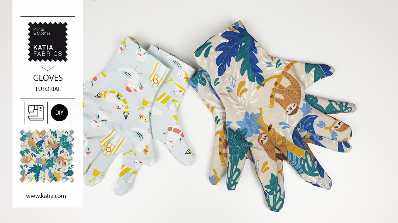 fabric gloves