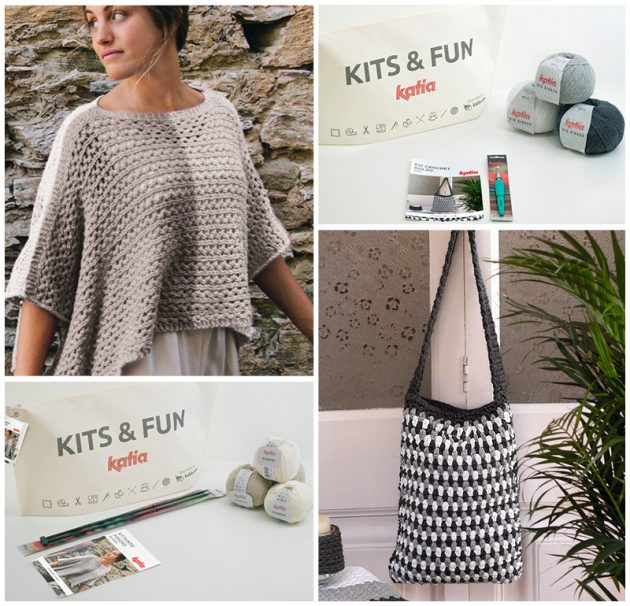 Knitting Crochet Kits for Beginners