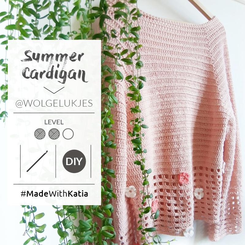 Crochet a summer cardigan