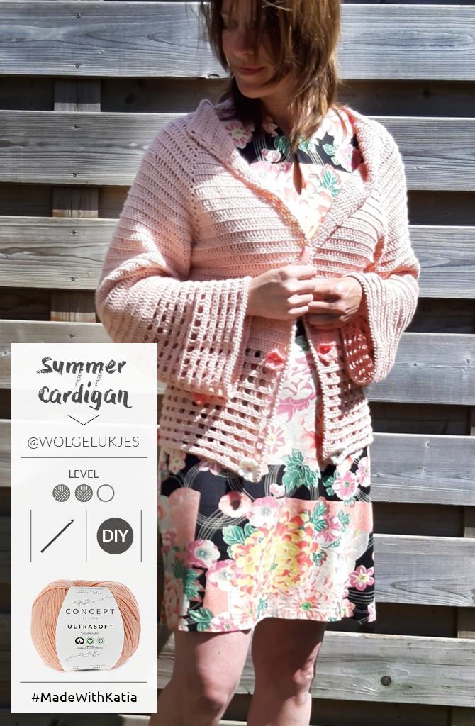 Crochet jacket pattern