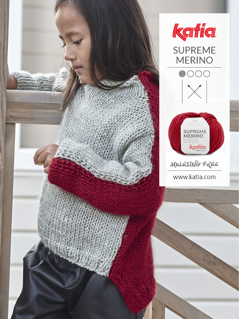 Easy to knit pullover