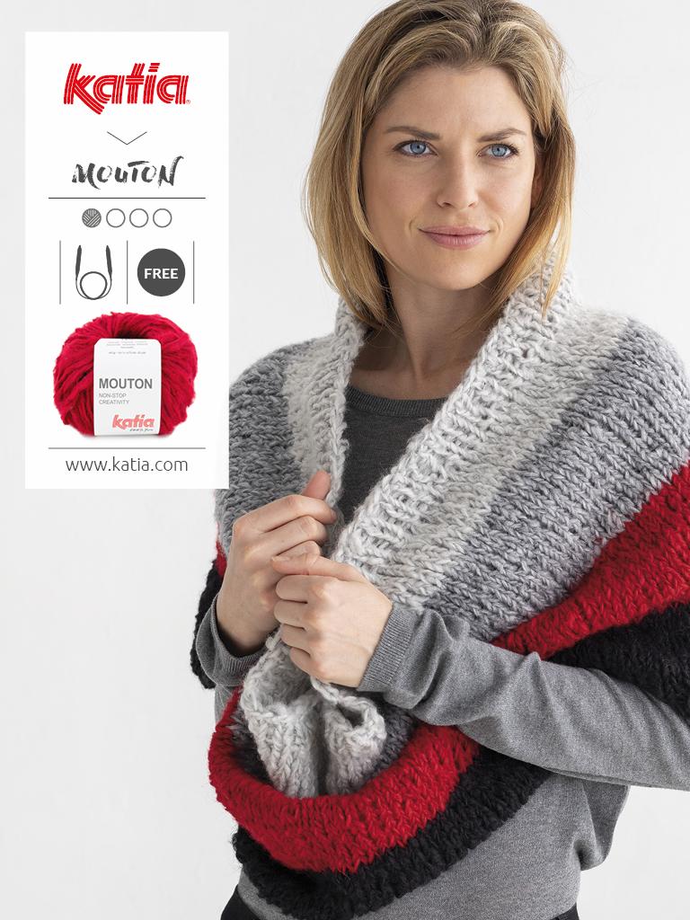 knit cowl pdf pattern