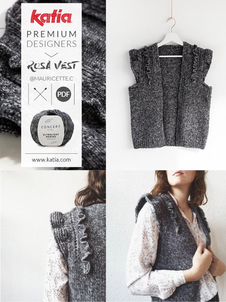 bottom-up knitting pattern