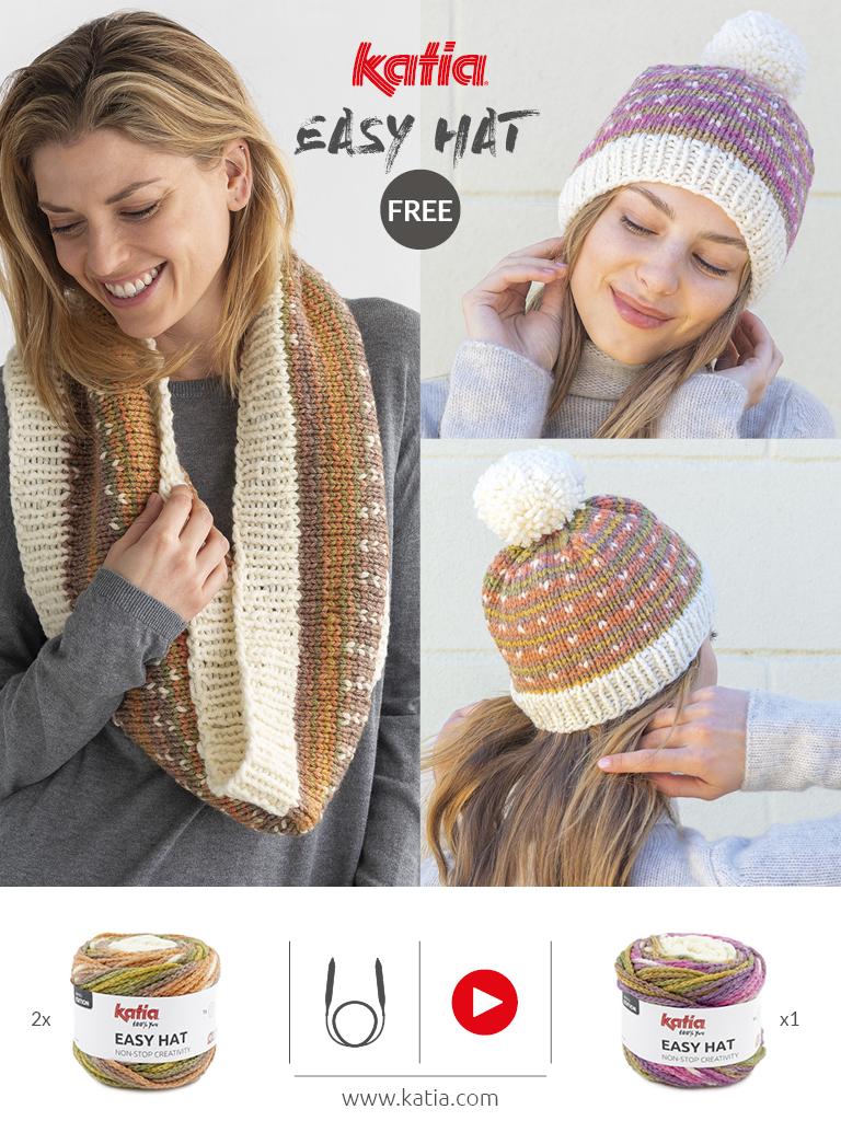 Knitting with circular needles