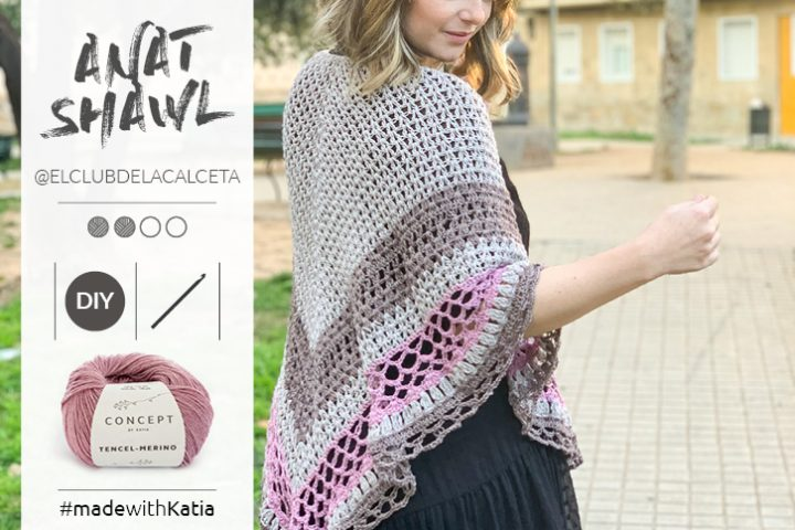 Lace Shawl crochet pattern