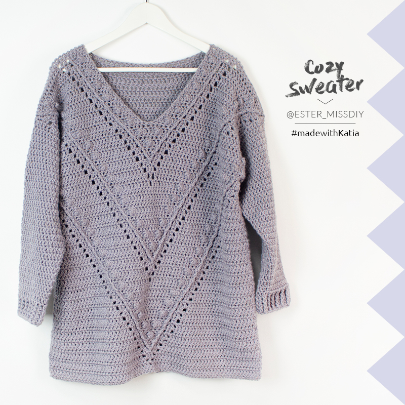 How to crochet the Cozy Jumper
