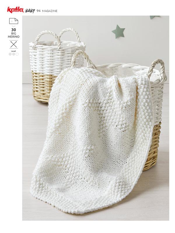 blanket relief stitch star