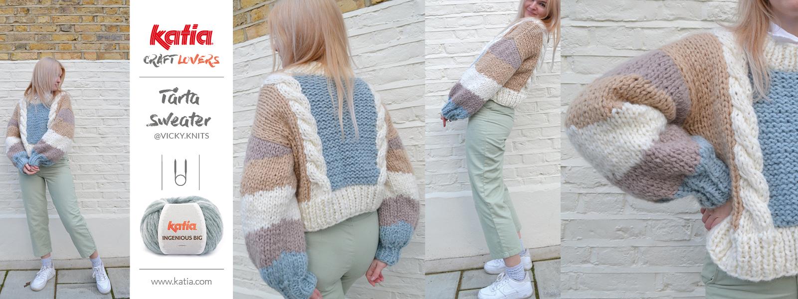 bottom-up sweater