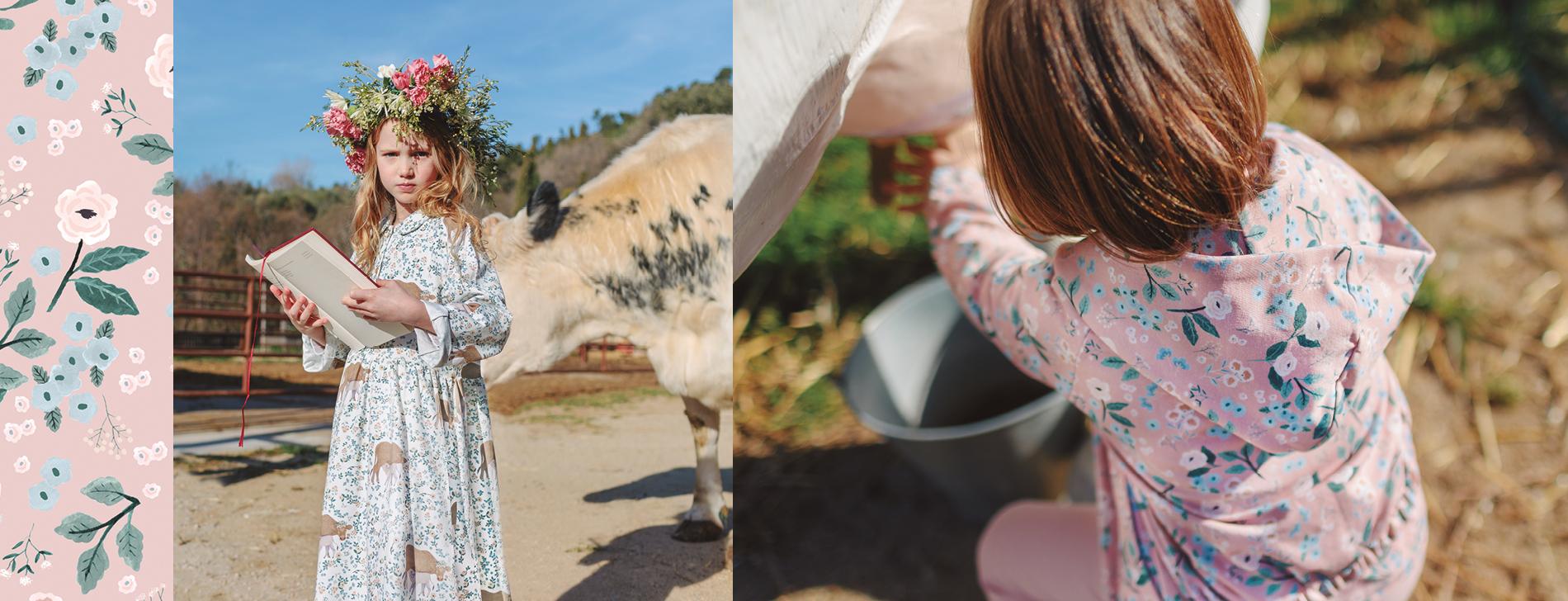 pretty cow fabrics