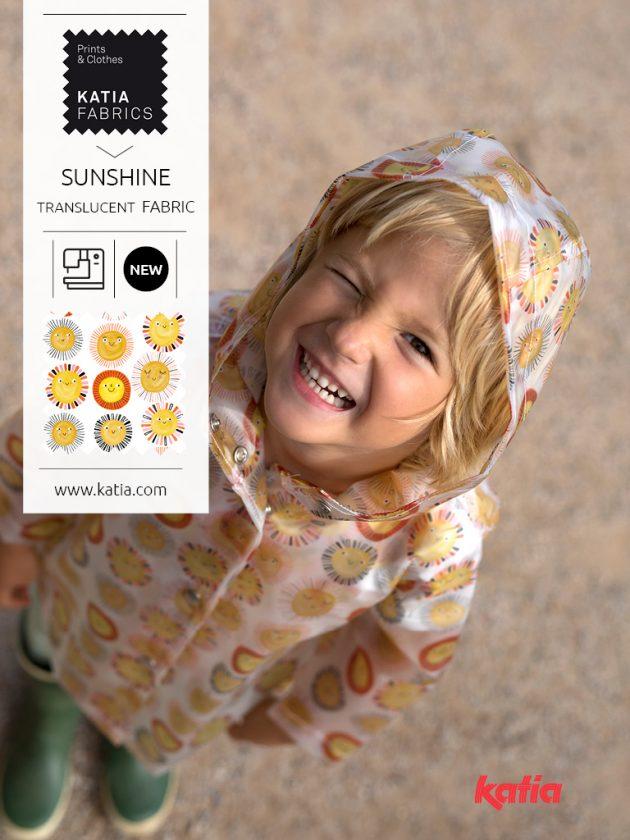 Translucent sunshine fabrics