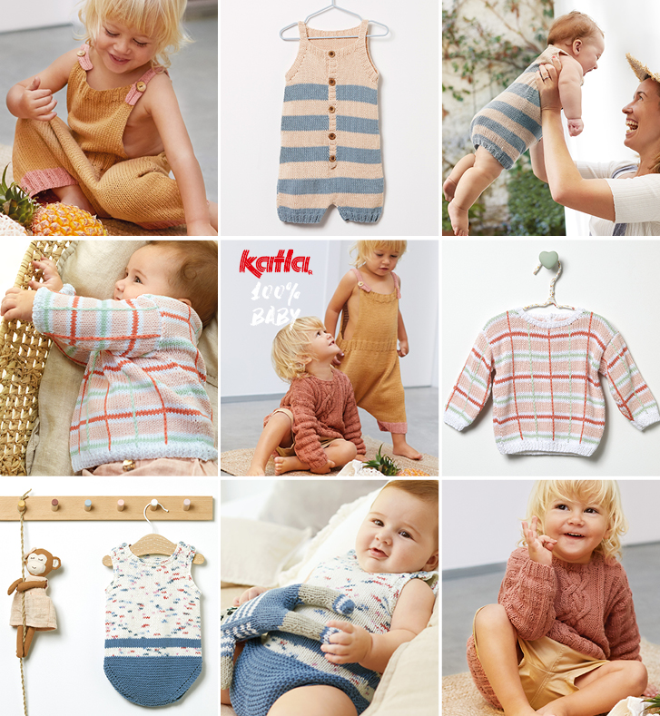 easy-to-knit summer patterns for babies
