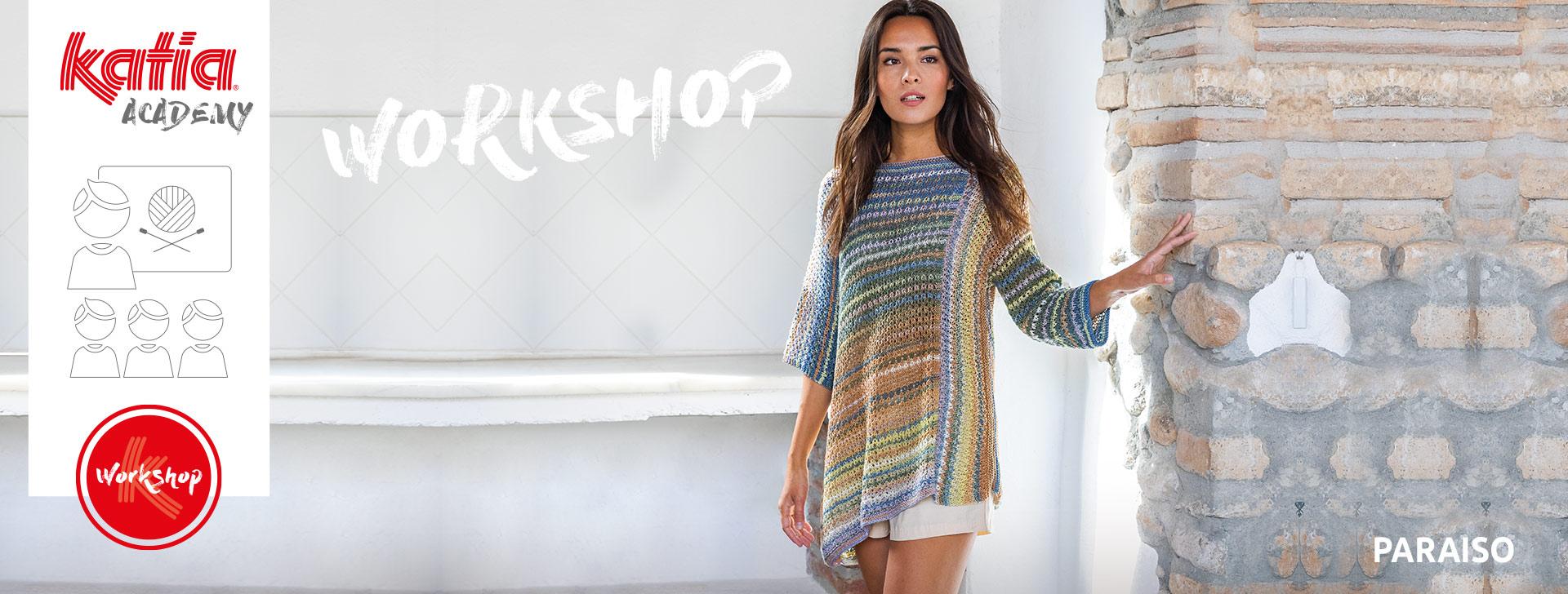 Katia Paraiso Asymmetric Sweater Workshop