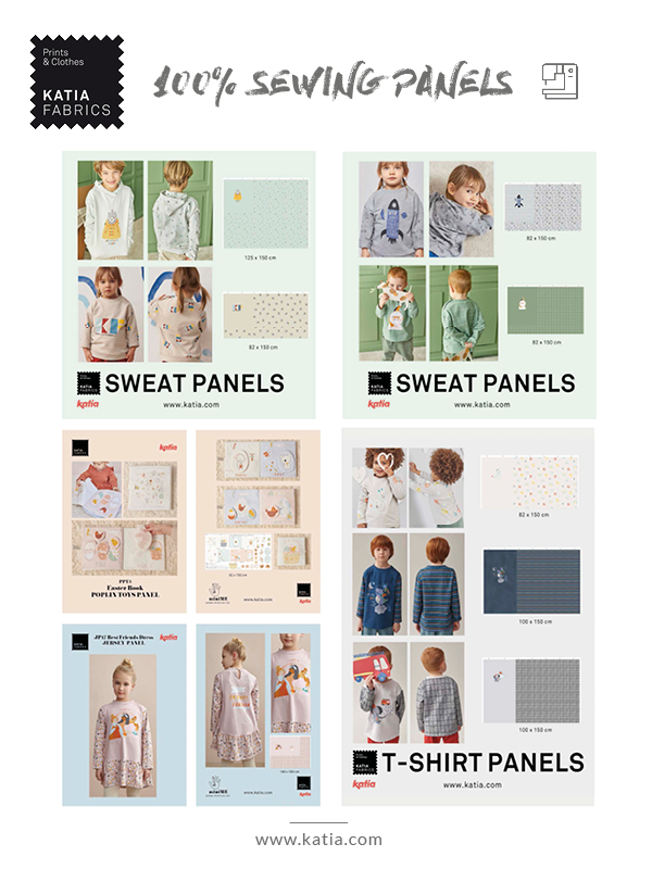 sewing panels for kids