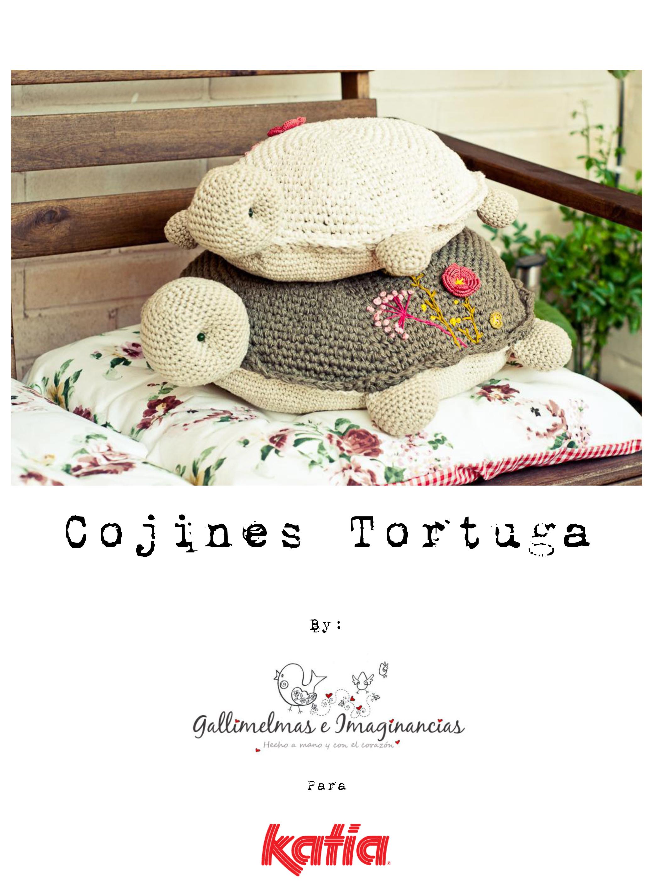 Cojines Tortuga - Katia & Gallimelmas-1