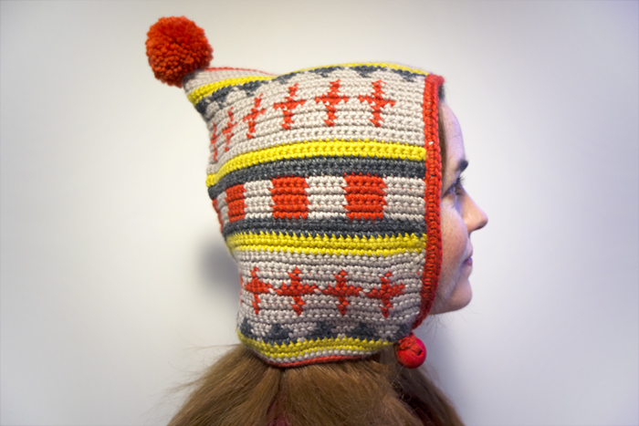 caperuza tapestry crochet