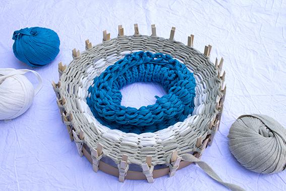 Tejer en el telar circular 7