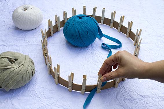 Tejer en el telar circular 1
