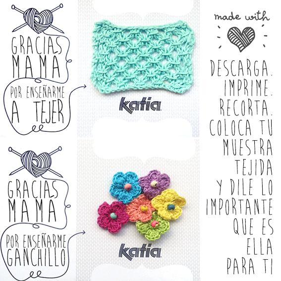 Gracias mamá por enseñarme a tejer! - Katia Blog Lanas y Telas