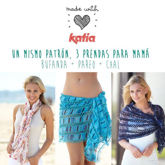 patron-ganchillo-pareo-bufanda-chal-katia-2 - Lanas Katia - Blog