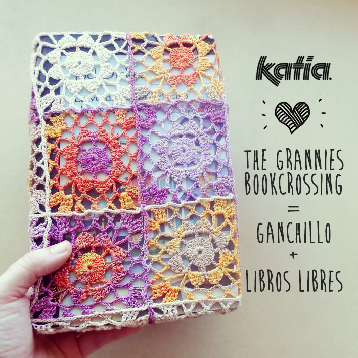 2 fundas para The Grannies Bookcrossing = Ganchillo + Libros - Lanas ...