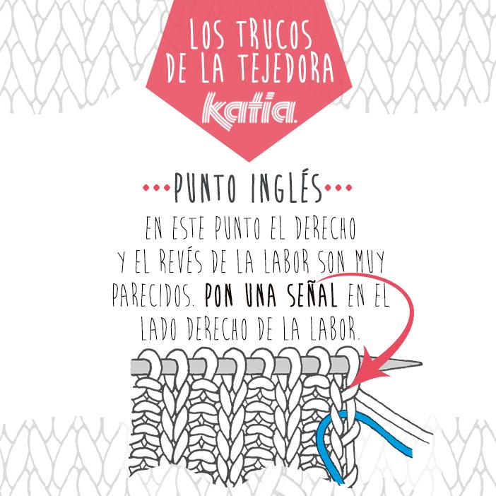 Los trucos de la tejedora: derecho y revés de punto inglés - Katia ...
