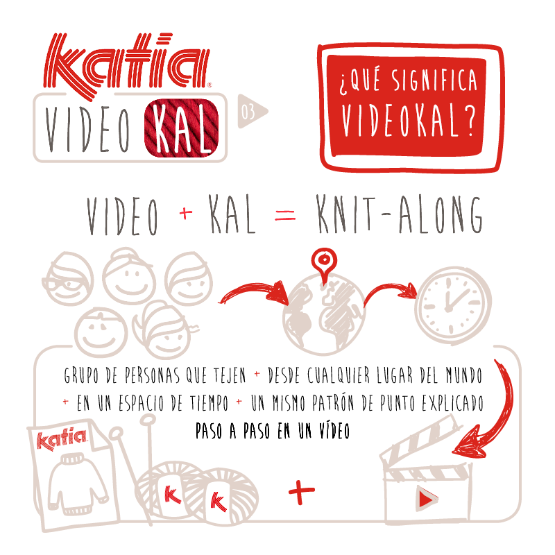 Katia VideoKAL septiembre: gorro de punto para bebé