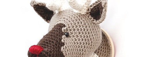 Porta Retrato Amigurumi Crochet Reno Navidad - $ 180.00 en Mercado ... | 198x510