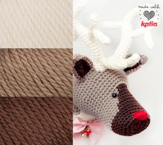 Alegra tu hogar con el reno mágico de la Navidad - Lanas Katia - Blog