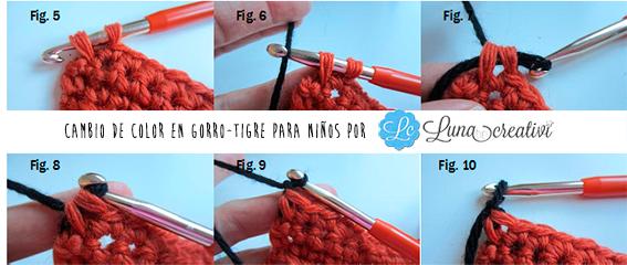 Craft Lovers ♥ Gorro-Tigre para niños por Lunadei Creativi 09e82b3555c8