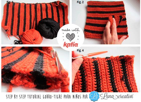 Craft Lovers ♥ Gorro-Tigre para niños por Lunadei Creativi f715bb2ac43
