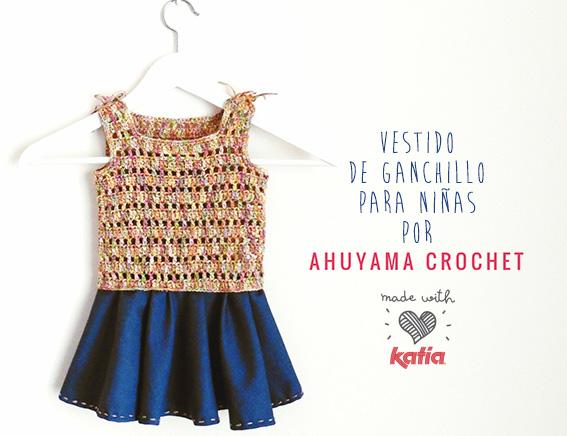 b508dc337 Craft Lovers ♥ Vestido para niñas por Ahuyama Crochet