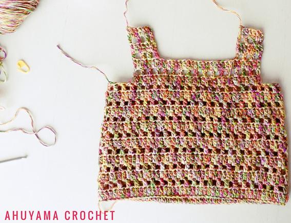 f2fabc17c6acd Craft Lovers ♥ Vestido para niñas por Ahuyama Crochet