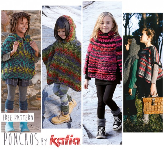 Discover Our Poncho And Cape Proposals In Knit Or Crochet