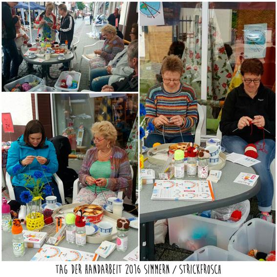 Instantáneas del Día Mundial de Tejer en Público 2016