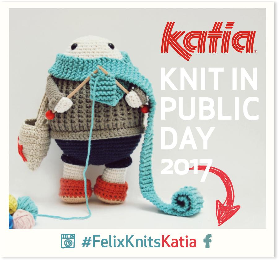 Concurso #FelixKnitsKatia: Teje con Félix el Día Mundial de Tejer en ...