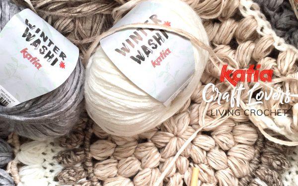 living crochet alfombra