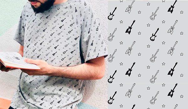 patrones de costura camiseta de chico