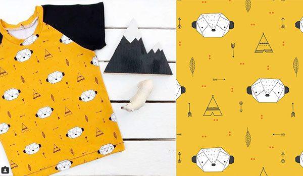 proyectos de costura camiseta niño