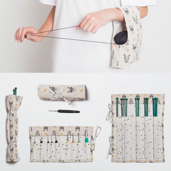 Aprende a coser el patrón kit tejer ganchillo para principiantes