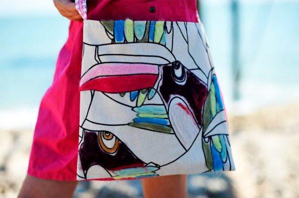 patrones de costura bolso infantil