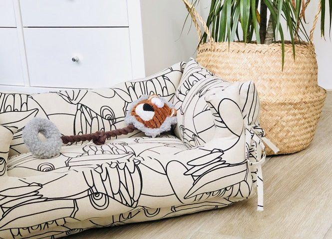 patrones de costura cama perruna