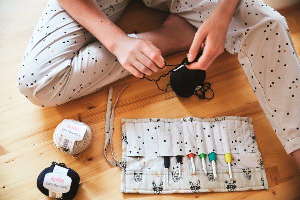 patrón kit tejer ganchillo