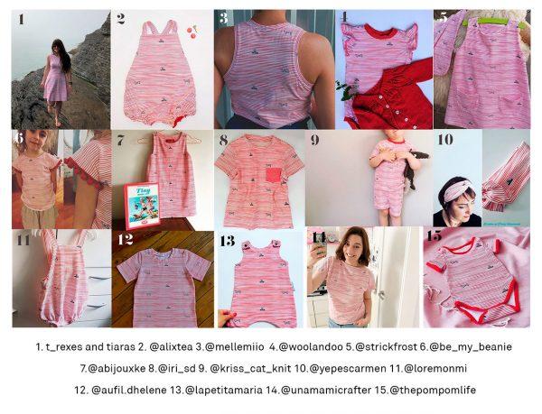proyectos de costura tela jersey