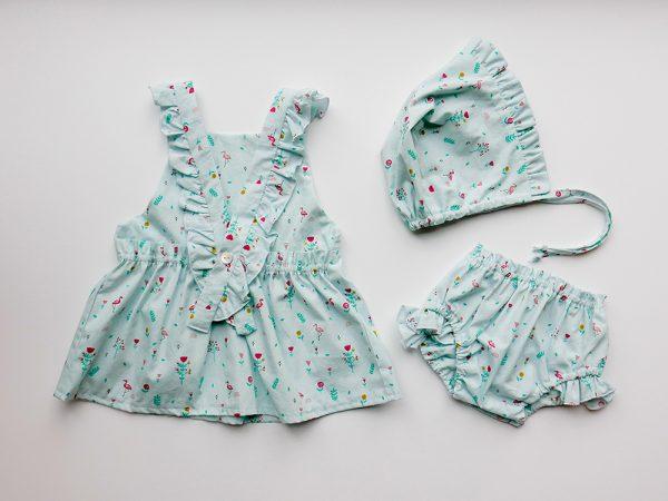 cose con katia vestido bebe