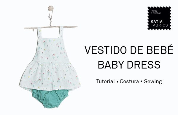 coser vestido para bebé