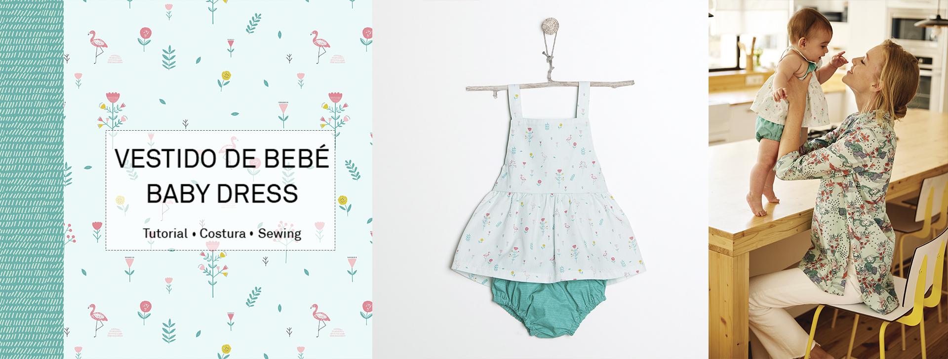 Como coser un vestido para bebe facil y rápido con nuestro video ...
