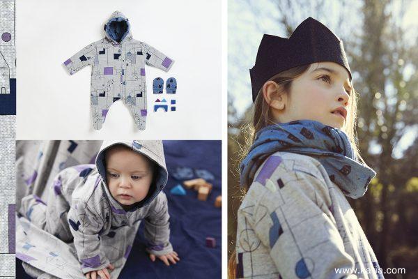 Katia fabrics otoño city patrones