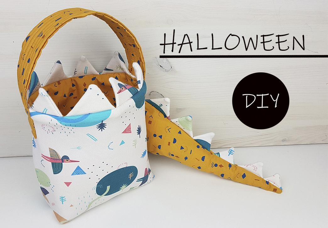 Aprende cómo hacer una cesta de dinosaurio y disfruta Halloween