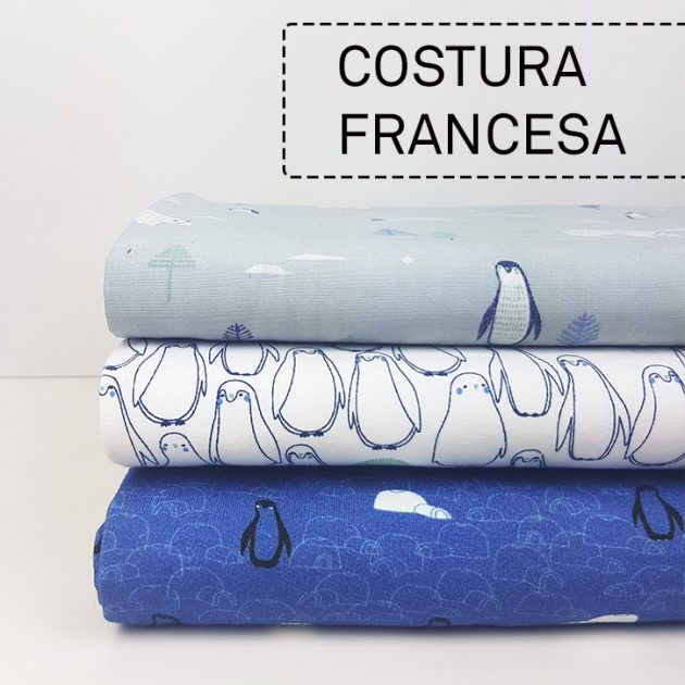 COSTURA FRANCESA TELAS
